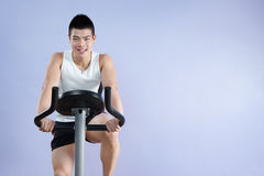 Exercising Stock Photo