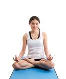 Exercising asian woman Royalty Free Stock Image