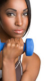 Exercising Black Woman Royalty Free Stock Photo