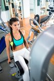 Exercising on facilities Royalty Free Stock Photo