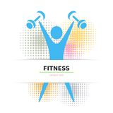 Exercising figure Royalty Free Stock Images