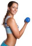 Exercising Girl Stock Photo