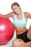 Exercising Girl Royalty Free Stock Photo