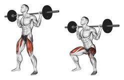 exercising Hurkzit op de schouders