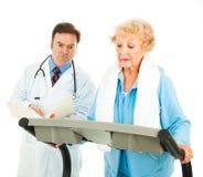 Exercising on Medical Advice Stock Image