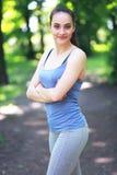 Exercising outdoors Stock Photos