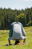 Exercising outdoors Royalty Free Stock Photography