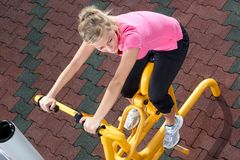 Exercising time 2 Royalty Free Stock Images