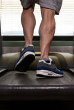 Exercising On A Treadmill Royalty Free Stock Photography