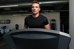 Exercising On A Treadmill Royalty Free Stock Photo