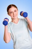 Exercising Woman Stock Image