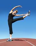 Exercising woman Royalty Free Stock Photos
