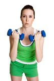 Exercising Woman Royalty Free Stock Photography