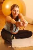 Exercising woman Royalty Free Stock Photo