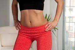 exercising woman Στοκ φωτογραφία με δικαίωμα ελεύθερης χρήσης