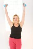 exercising woman Στοκ φωτογραφίες με δικαίωμα ελεύθερης χρήσης