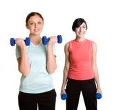 Exercitando mulheres Imagens de Stock Royalty Free
