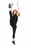 Exerising oder tanzende Frau Stockbilder