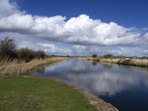 Exeter Canal south of Exeter, Stock Photos