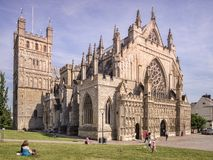 Exeter Cathedral Devon UK Royalty Free Stock Photo