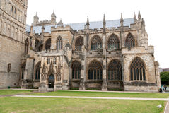 Exeter Cathedral Royalty Free Stock Photos