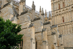 Exeter Cathedral Royalty Free Stock Photo