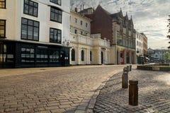 exeter Centrum miasta obrazy royalty free