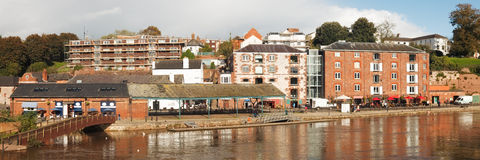 Exeter Devon Anglia UK Fotografia Royalty Free