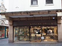 Free EXETER, DEVON, UK - December 03 2019: Ernest Jones Store Front On Exeter High Street Royalty Free Stock Photos - 179826758