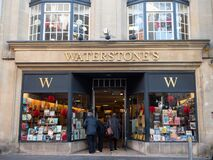 Free EXETER, DEVON, UK - December 03 2019: Waterstones Shop Front On Exeter High Street Stock Photography - 180927272