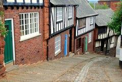 Exeter, Engeland: De Heuvel van Stepcote Stock Afbeeldingen