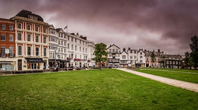 Exeter gammal stad Royaltyfria Foton