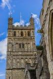 Exeter-Kathedrale, Exeter, Devon, England Lizenzfreie Stockbilder