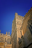 Exeter-Kathedrale am Sommer Stockbild