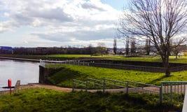 Exeter-Stadt Der vue ist hübsch Lizenzfreies Stockfoto