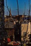Exeter widok od Exeter kasztelu obraz stock