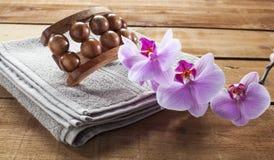 Exfoliación del zen y rejuvenecimiento de la piel con suavidad Fotos de archivo libres de regalías