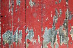 Exfoliated краска на старом деревянном поле стоковое фото rf