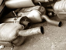 Exhaust Royalty Free Stock Photography