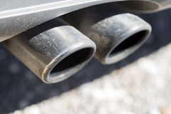 Exhaust. Royalty Free Stock Photo