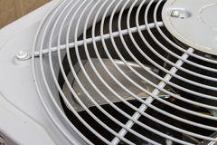 Exhaust fan of an air conditioner Royalty Free Stock Images