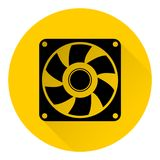 Exhaust fan icon Royalty Free Stock Photos