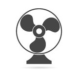 Exhaust fan vector icon Stock Image