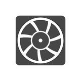 Exhaust fan vector icon Royalty Free Stock Image