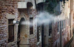 Exhaust fumes Stock Photography