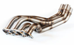 Exhaust Manifold Stock Photography