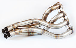 Exhaust Manifold Royalty Free Stock Photos