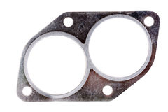 Exhaust manifold gasket for an automobile Stock Photos