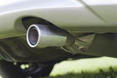 Exhaust pipe Stock Photos