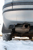 Exhaust pipe Royalty Free Stock Photo
